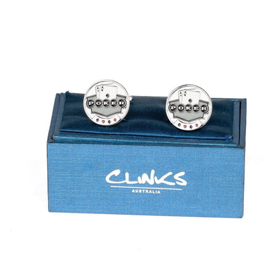Poker Pocket Aces Poker Chip Novelty Cufflinks Clinks Australia
