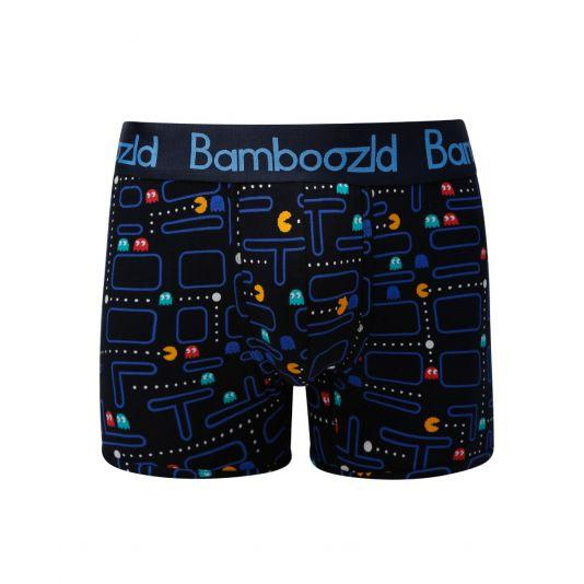 Mens Underwear Trunk - Pacman Underwear Bamboozld Small 80-85cm