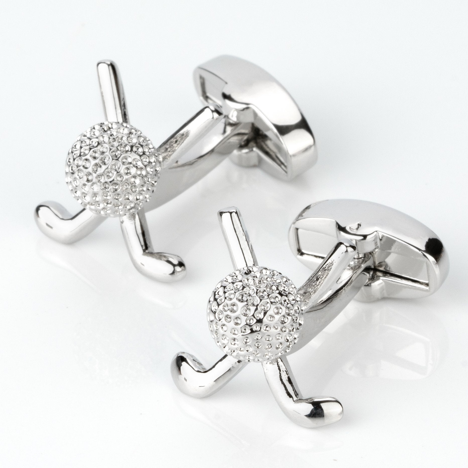 Golf Club and Ball Cufflinks Novelty Cufflinks Clinks Australia