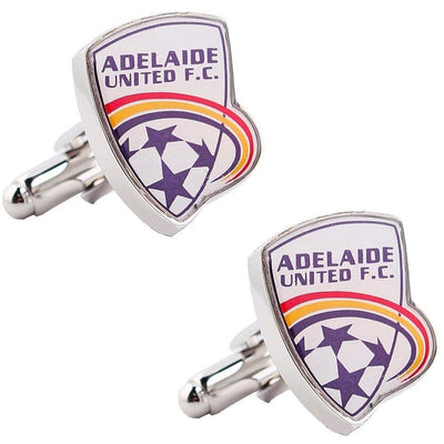 Adelaide United A-League Football Cufflinks , Novelty Cufflinks , CL5125 , Mens Cufflinks , Cufflinks , Cuffed , Clinks