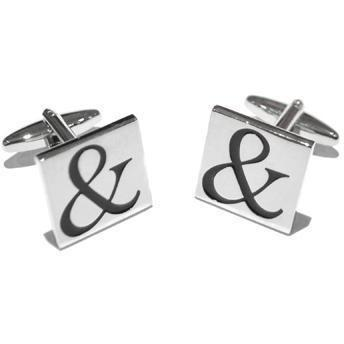 Ampersand Cufflinks, Novelty Cufflinks, Cuffed.com.au, ZBC1120, $36.30