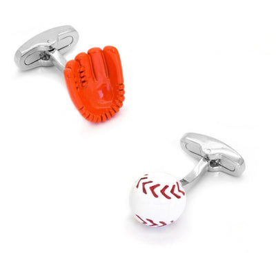 Baseball Glove and Ball Cufflinks Clinks Australia