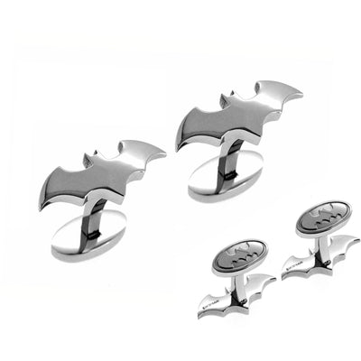 Batman Cufflinks Silver , Silver Cufflinks , CL5802 , DC Comics , Mens Cufflinks , Cufflinks , Cuffed , Clinks