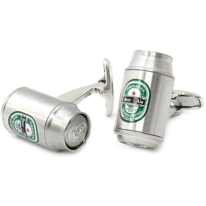 Beer Can Cufflinks Clinks Australia