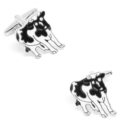 Black and White Cow Cufflinks Clinks Australia