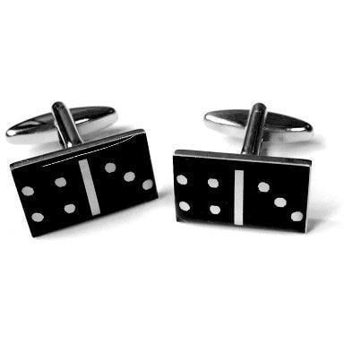 Black Dominoes Cufflinks GTR