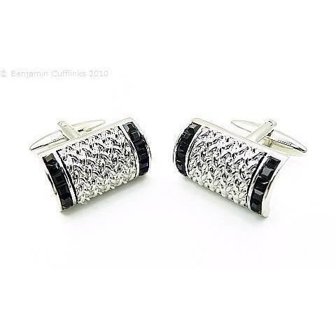 Black Jet Arched Cufflinks GTR