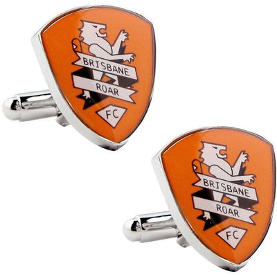 Brisbane Roar FC A-League Cufflinks vendor-unknown