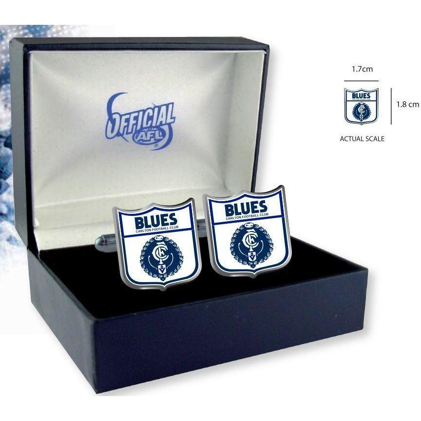 Carlton Heritage AFL Cufflinks Novelty Cufflinks AFL Carlton Heritage AFL Cufflinks