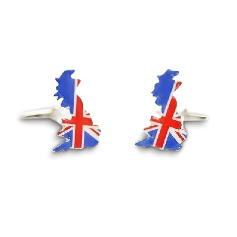 UK Mainland & Union Jack Cufflinks Novelty Cufflinks Clinks Australia