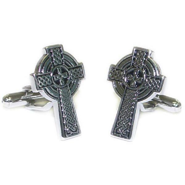 Celtic Cross Cufflinks, Novelty Cufflinks, Cuffed.com.au, ZBC1423, $37.40