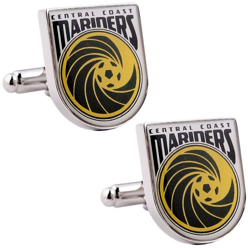 Central Coast Mariners A-League Football Cufflinks vendor-unknown