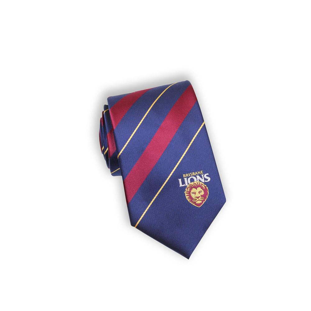AFL Brisbane Lions MF Tie , Ties AFL , Mens Ties , TI9017 , Cuffed , Clinks
