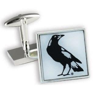 Collingwood Magpies ALF Cufflinks Novelty Cufflinks AFL Collingwood Magpies ALF Cufflinks