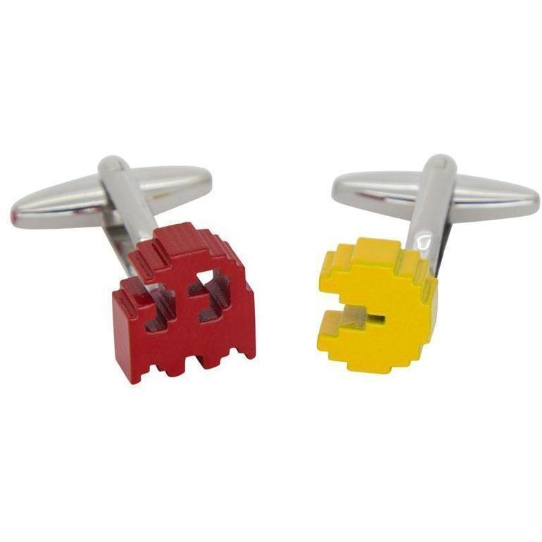 Colour PacMan Cufflinks Novelty Cufflinks Clinks Australia