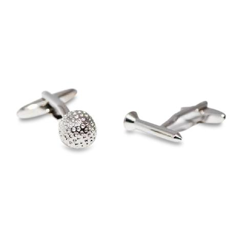 Golf Tee  Ball Cufflinks 2