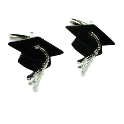 Graduation Hat Cufflinks Novelty Cufflinks Clinks Australia Graduation Hat Cufflinks