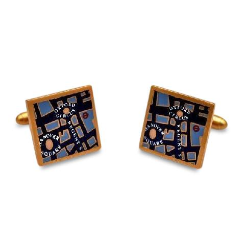 Map of London Cufflinks Novelty Cufflinks Clinks Australia Map of London Cufflinks