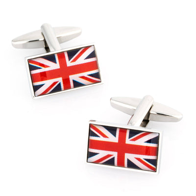 Flag of the United Kingdom - Union Jack Cufflinks Novelty Cufflinks Clinks Australia Flag of England - Union Jack Cufflinks