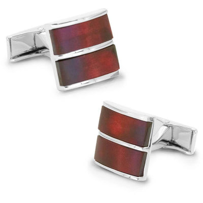 Dual Redwood Cufflinks Classic & Modern Cufflinks Clinks Australia Dual Redwood Cufflinks