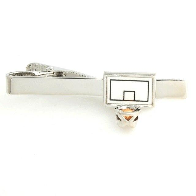 Basketball Hoop Tie Clip, Tie Bars, Cuffed.com.au, TC3560, $25.00