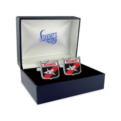 Essendon FC Heritage AFL Cufflinks, Novelty Cufflinks, Cuffed.com.au, CL5028, $44.00