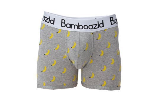 Mens Underwear Trunk - Big Banana Underwear Bamboozld Small 80-85cm