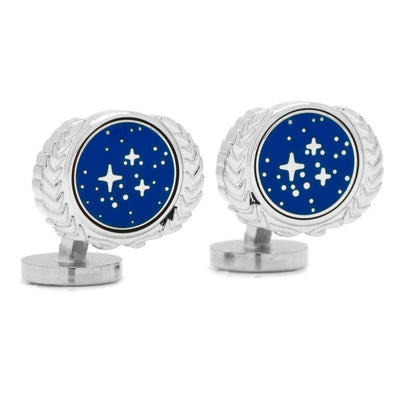 Star Trek UFP Cufflinks Novelty Cufflinks Star Trek