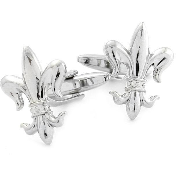 Fleur De Lis Cufflinks, Novelty Cufflinks, Cuffed.com.au, CL9330, $29.00