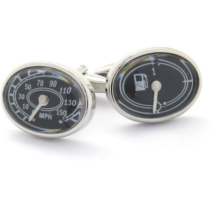 Fuel Gauge & Speedometer Cufflinks Clinks Australia