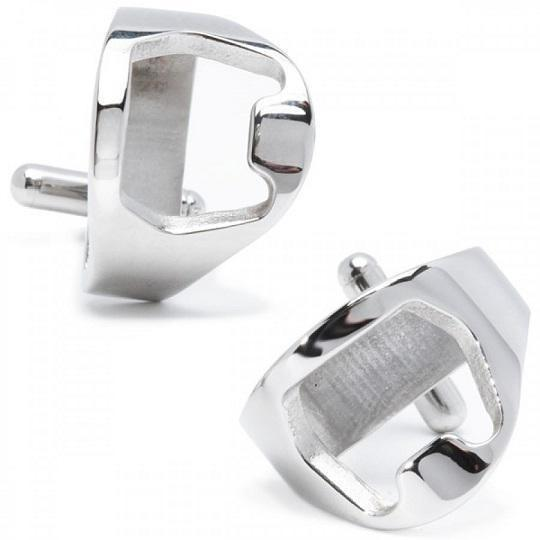 Functional Beer Bottle Opener Cufflinks, Novelty Cufflinks, Cuffed.com.au, CL6005, $29.00