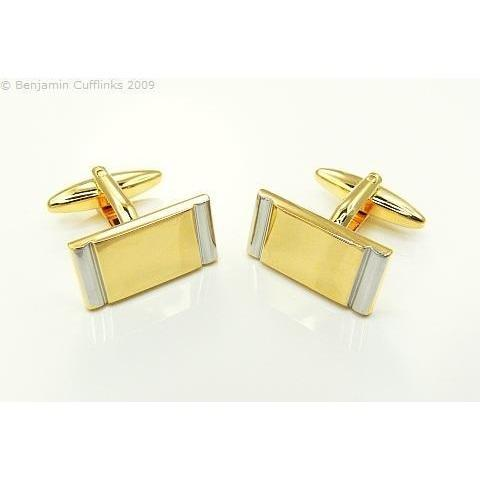 Golden Rectangle Cufflinks Classic & Modern Cufflinks Clinks Australia Golden Rectangle Cufflinks