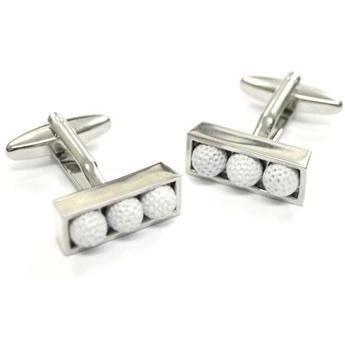 Golf Balls in Box Cufflinks GTR