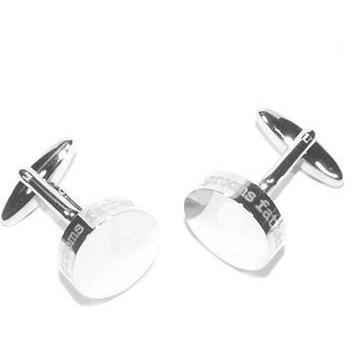 Grooms Father Laser Etched Round Engravable Cufflinks Clinks Australia