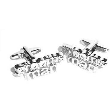 Groomsman cut-out style Wedding Cufflinks Wedding Cufflinks Clinks Australia