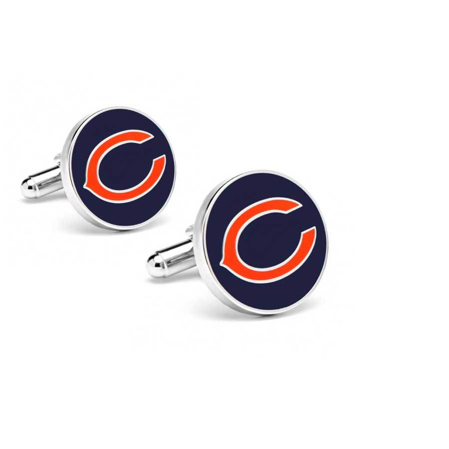 Chicago Bears Cufflinks Novelty Cufflinks NFL Default