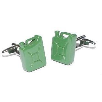 Jerry Can Military Green Cufflinks GTR