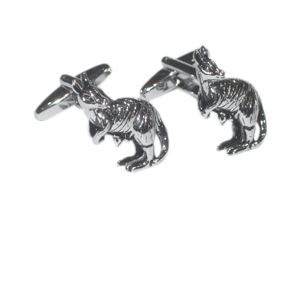 Kangaroo and Joey cufflinks Novelty Cufflinks Clinks Australia Kangaroo and Joey cufflinks