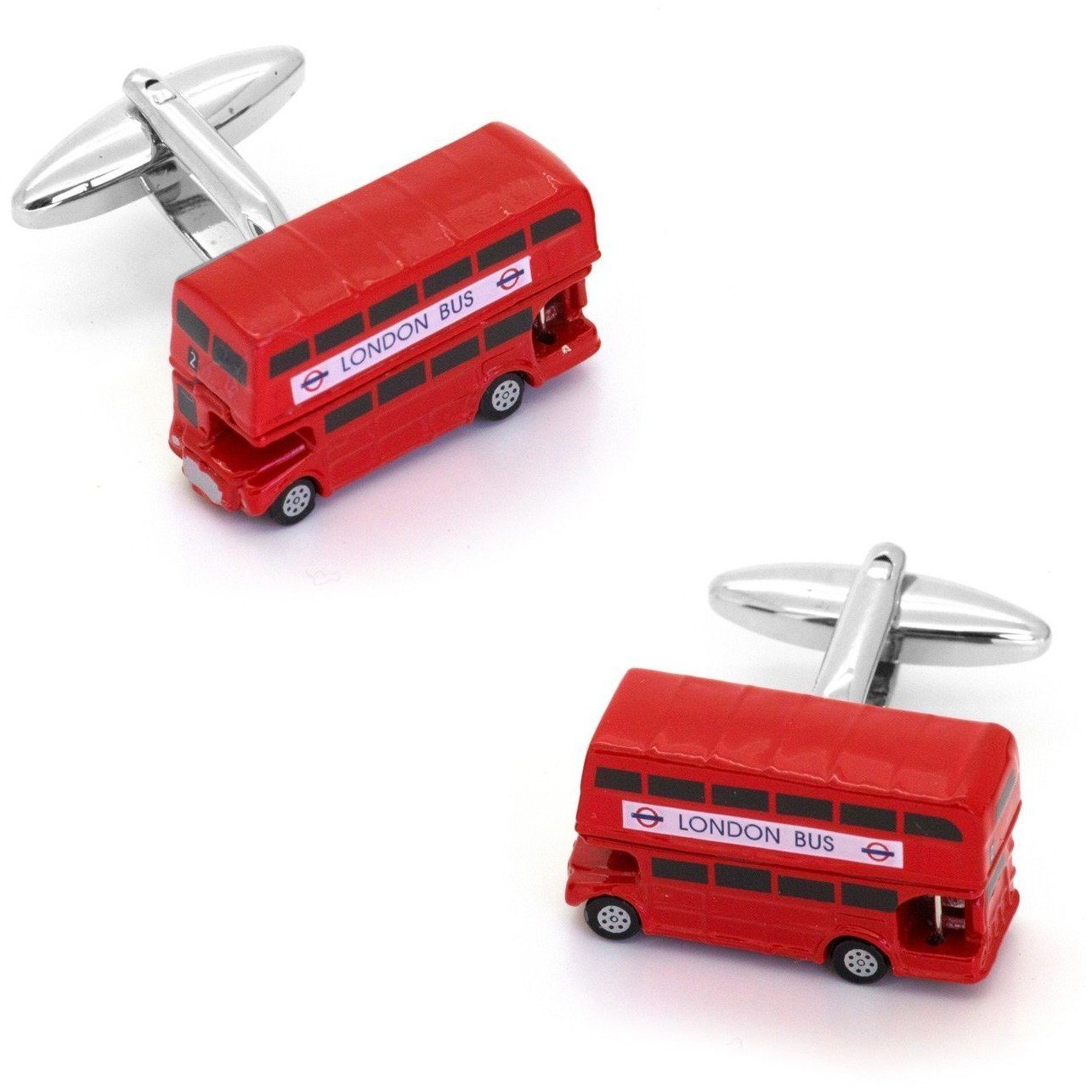 London Bus Cufflinks, Novelty Cufflinks, Cuffed.com.au, CL8570, $29.00