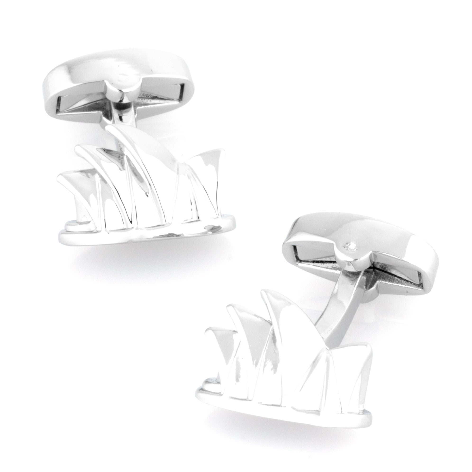 Sydney Opera House Cufflinks Novelty Cufflinks Clinks Australia Sydney Opera House Cufflinks