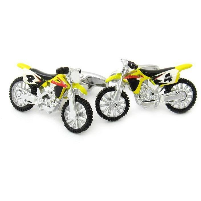 Motorcross Bikes Cufflinks, Novelty Cufflinks, Cuffed.com.au, CL6740, $29.00
