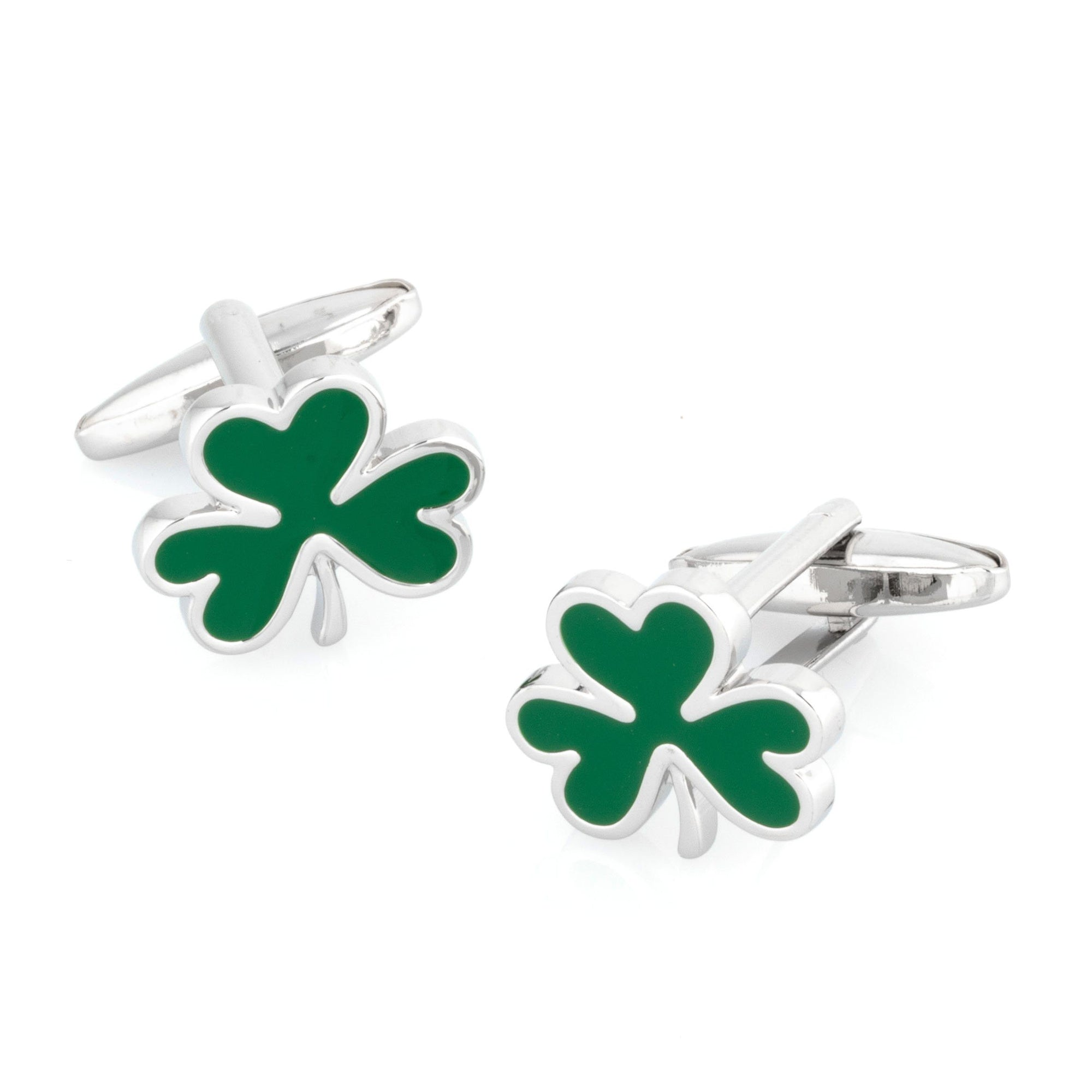 Irish Shamrock Cufflinks Novelty Cufflinks Clinks Australia