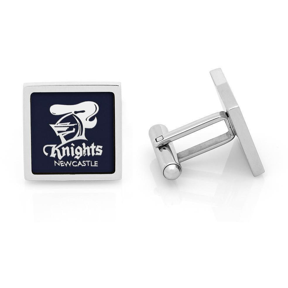Newcastle Knights NRL Cufflinks, Novelty Cufflinks, Cuffed.com.au, CL5157, $49.00