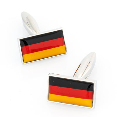 Flag of Germany - German Flag Cufflinks Novelty Cufflinks Clinks Australia