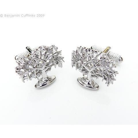 Oak Tree Cufflinks, Cuffed.com.au, ZBC2289, $38.50