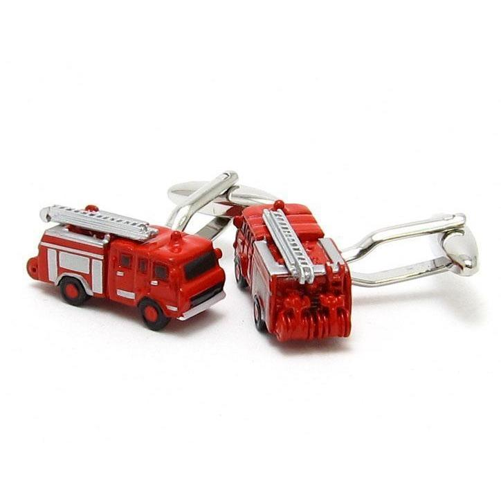 Red Fire Engines Cufflinks, Novelty Cufflinks, Cuffed.com.au, CL6600, $29.00