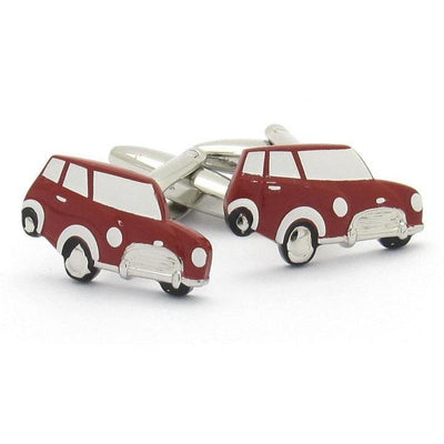 Red Mini Cufflinks Novelty Cufflinks Clinks Australia Red Mini Cufflinks