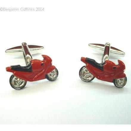 Red Motor Racing Bike Cufflinks Default Clinks Australia Red Motor Racing Bike Cufflinks