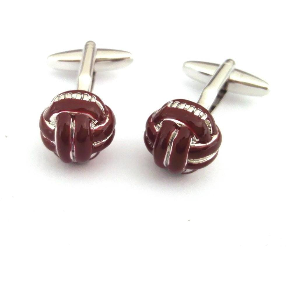 Retro Foot Ball Cufflinks, Novelty Cufflinks, Cuffed.com.au, ZBC2566, $38.50