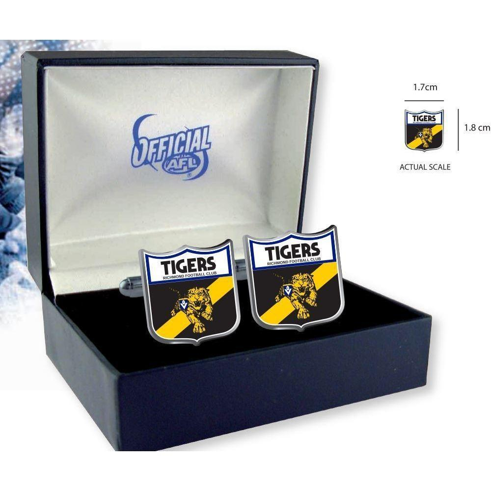 Richmond Tigers Heritage AFL Cufflinks Novelty Cufflinks AFL Richmond Tigers Heritage AFL Cufflinks